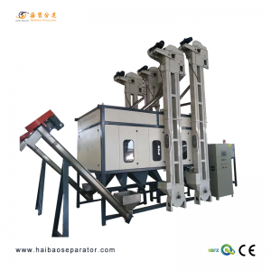 Electrostatic Plastik séparation-HB1500