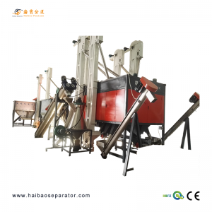 Electrostatic Plastik séparation-HB3000