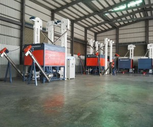 Waste Plastics Recycling Line