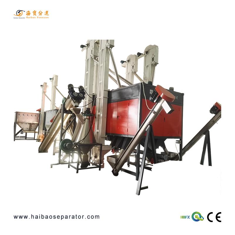 Elektrostatiese Plastics separator-HB3000 Voorgestelde Image
